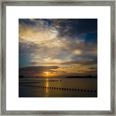 Best Part Of The Day Framed Print by Maria Robinson