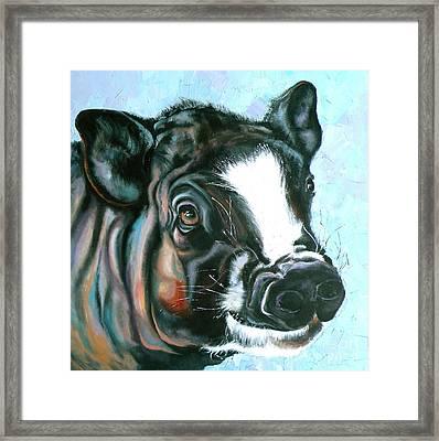 Best Pig Ever Framed Print