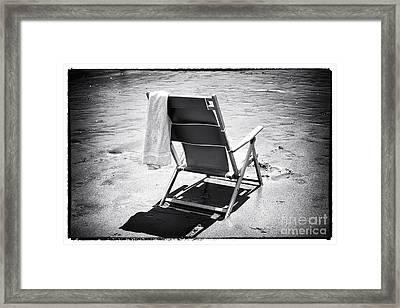 Best Seat Framed Print by John Rizzuto