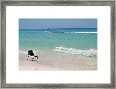 Best Seat  Framed Print