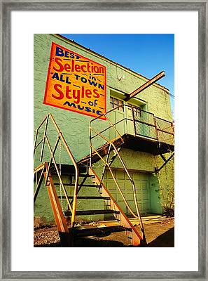 Best Selection In Town Framed Print