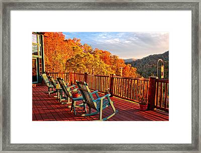Best View In Town  Framed Print by Lynn Bauer