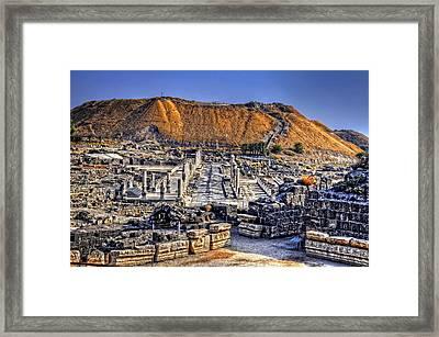 Bet Shean Framed Print