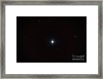 Beta Orionis Framed Print by John Chumack
