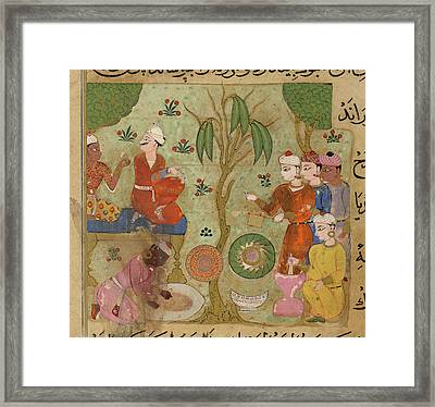 Betel Chews Framed Print by British Library