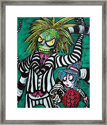 Betelgeuse Framed Print by Laura Barbosa