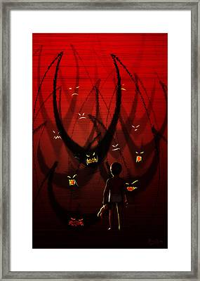 Betes Noires Framed Print by Matt Lindley
