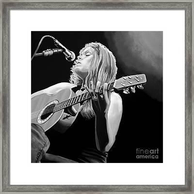 Beth Hart  Framed Print by Meijering Manupix
