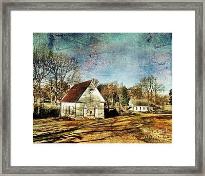 Bethany Baptist Church Enid Ms Framed Print