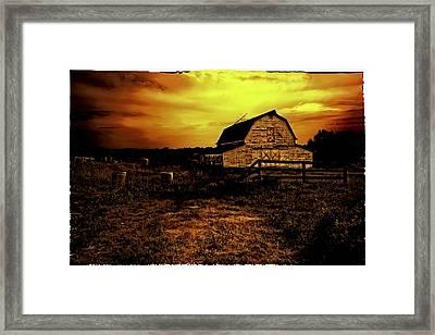 Bethel Farmland Framed Print by Madeline Ellis