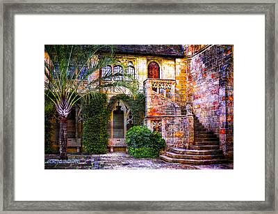 Bethesda By The Sea Framed Print by Debra and Dave Vanderlaan