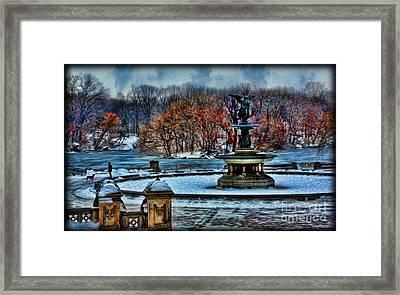 Bethesda Digital Painting II Framed Print by Lee Dos Santos