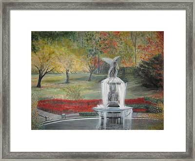 Bethesda Fountain  Central Park Framed Print by Rick Todaro