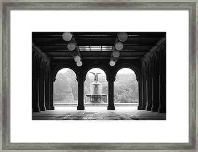 Bethesda Terrace  1990s Framed Print