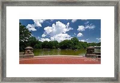Bethesda Terrace Central Park New York Framed Print by Amy Cicconi