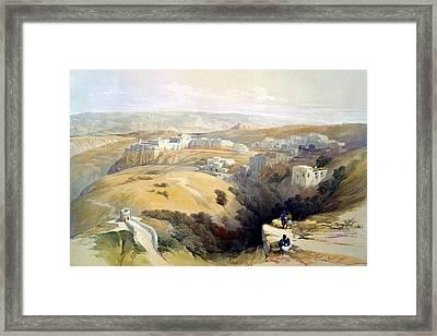 Bethlehem  Framed Print
