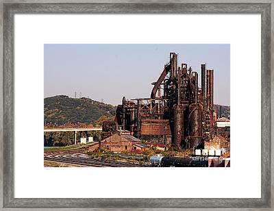 Bethlehem Steel # 8 Framed Print