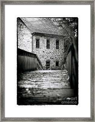 Bethlehem Waterworks Framed Print