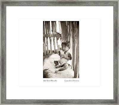 Framed Print featuring the photograph Beti Yanet Monueles by Tina Manley