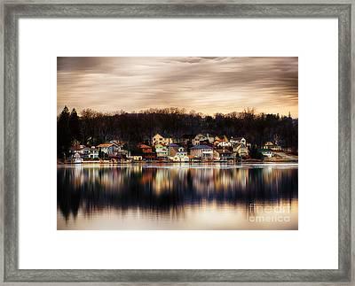 Betrand Island Framed Print