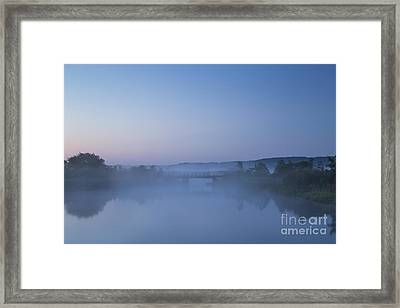 Betsie River At Dawn Framed Print by Twenty Two North Photography