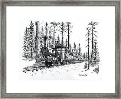 Betsy Framed Print