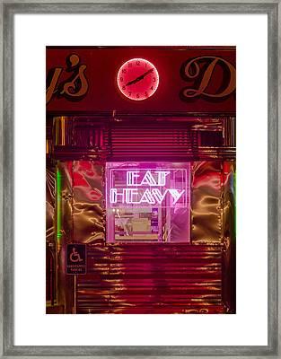 Betsy's Diner Framed Print