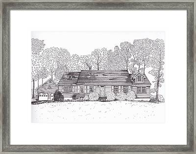 Betsy's House Framed Print by Michelle Welles