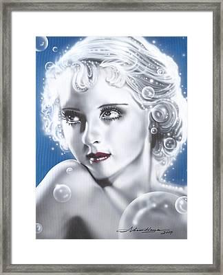 Bette Davis Framed Print by Alicia Hayes