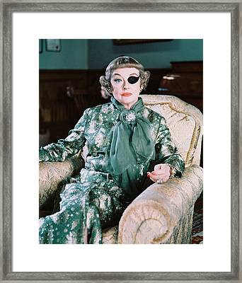 Bette Davis In The Anniversary Framed Print by Silver Screen