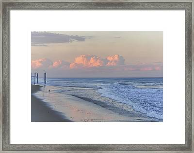 Better Days Ahead Seaside Heights Nj Framed Print by Terry DeLuco