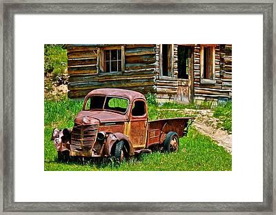 Better Days Framed Print