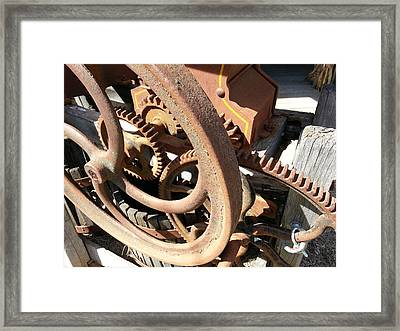 Framed Print featuring the photograph Better Days by Caryl J Bohn