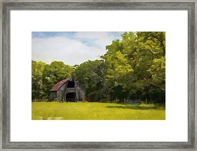 Framed Print featuring the painting Better Days by Jeff Kolker