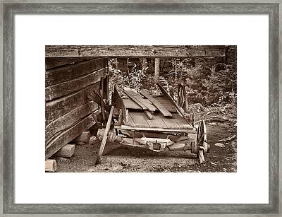 Framed Print featuring the photograph Better Days by Tyson and Kathy Smith