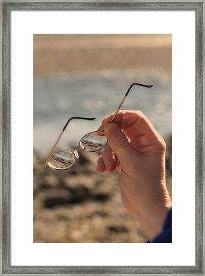 Better To See With Framed Print by Karol Livote
