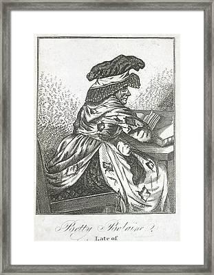 Betty Bolaine Framed Print