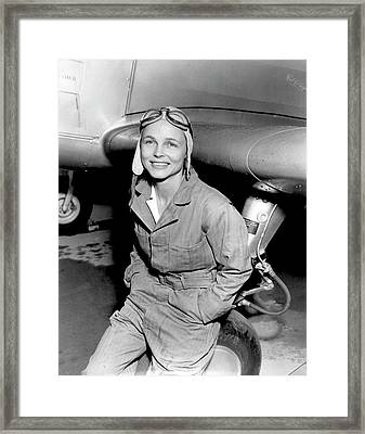 Betty Gillies Framed Print by Us Air Force
