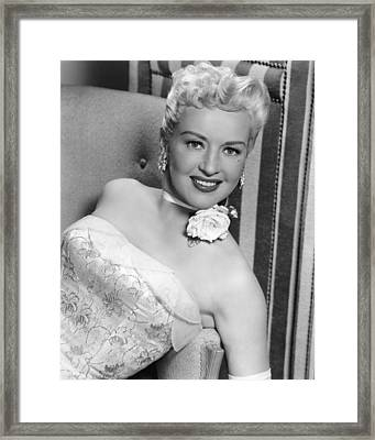 Betty Grable In How To Marry A Millionaire  Framed Print by Silver Screen