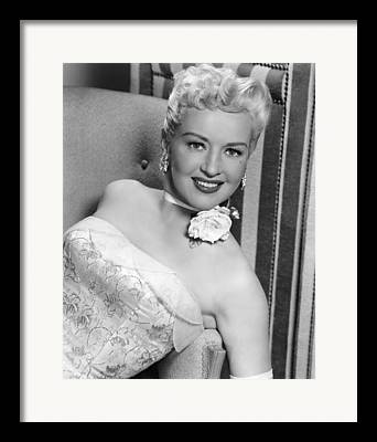 How To Marry A Millionaire Framed Prints