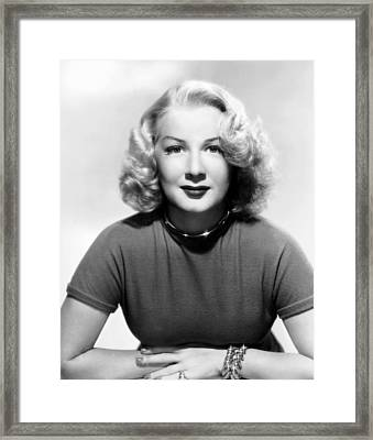 Betty Hutton, 1947 Framed Print by Everett