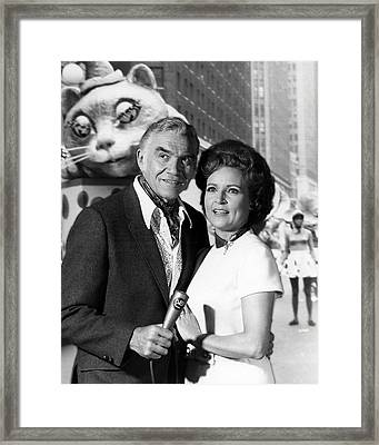 Betty White Framed Print by Silver Screen