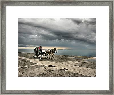 Between Framed Print