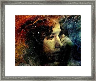 Between Fire And Ice Framed Print