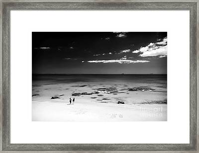 Between Friends Framed Print by John Rizzuto