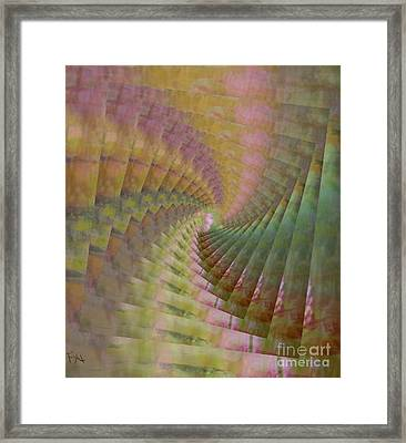 Between Heaven And Earth Framed Print by PainterArtist FIN