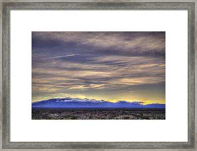 Between Me And Home Framed Print
