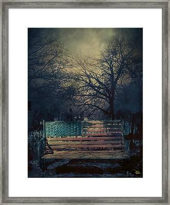 Between Night And Dawn Framed Print by Douglas MooreZart