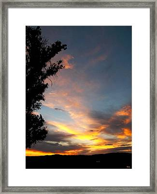 Between Night And Day Framed Print by Glenn McCarthy Art and Photography