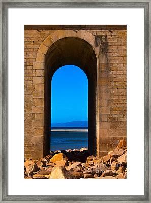 Between Sea And Sky Framed Print